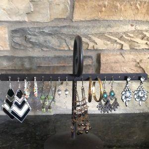Fashion Earrings 8 Pairs- Lot #10